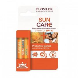 FLOS LEK Pomadka ochronna do ust z filtrem UV SPF 30