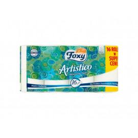 Foxy Artistico Papier toaletowy naturalnie biały 16 rolek