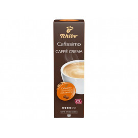Tchibo Cafissimo Caffè Crema Rich Aroma Kawa palona mielona 76 g (10 x 7,6 g)