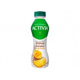 Danone Activia Jogurt siemię lniane mango ananas 280 g