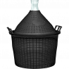 BROWIN Balon do wina w koszu plastikowym 15L