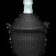 BROWIN Balon do wina w koszu plastikowym 5L