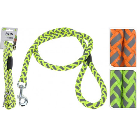 Pets collection smycz dla psa neon 120cm