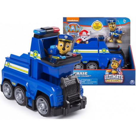 Psi Patrol Ultimate Rescue Radiowóz patrolowy i figurka Chase