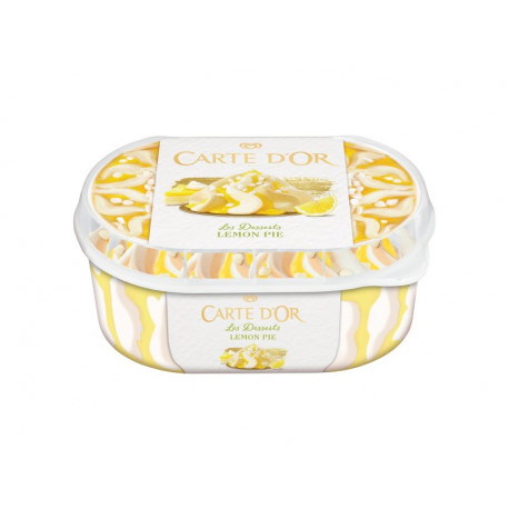 Carte D'Or Les Desserts Lemon Pie Lody 900 ml