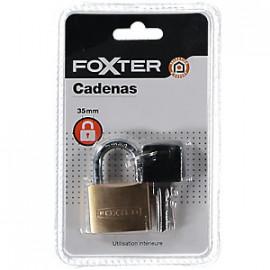 FOXTER Kłódka 45 mm z 2 kluczykami