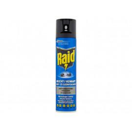 Raid Aerozol przeciw muchom komarom osom i innym owadom latającym 400 ml