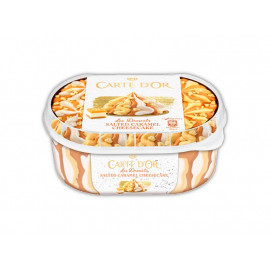 Carte D'Or Les Desserts Salted Caramel Cheesecake Lody 900 ml
