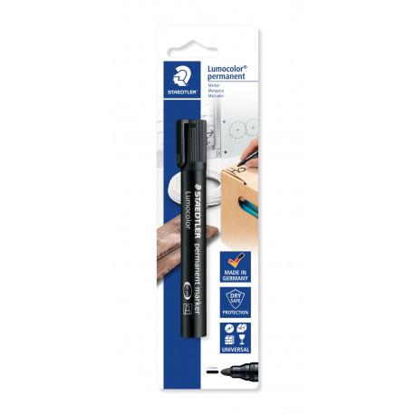 STAEDTLER  Marker wodoodporny czarny, 1 szt.