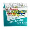 Esquissee flamastry zmywalne 12 kolorów