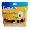 Wm Esquisse Flamastry zmywalne 36 kolorów
