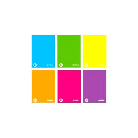 Herlitz brulion twarda oprawa color blocking A6/96K/Kratka (notes)