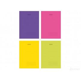Herlitz zeszyt okładka PP transparentna A4/60K/KRATKA mix kolor