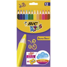 Bic Kids kredki ołówkowe 12 kolorów
