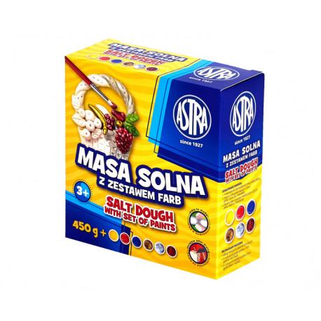 Astra masa solna z zestawem farb 6 kolorów