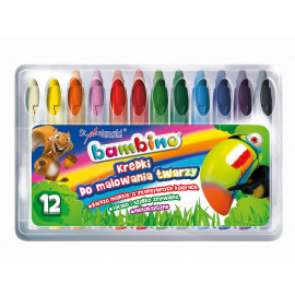 Bambino kredki do malowania twarzy 12 kolorów