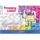 Happy Color, Blok rysunkowy kolorowe kartki, A3, 80 g/m2