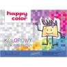 Happy Color, Blok rysunkowy kolorowe kartki, A3, 80 g/m2 15k