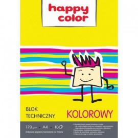 HAPPY COLOR BLOK TECHNICZNY KOLOR PREMIUM 170G A4