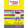 Happy Color blok techniczny kolorowy A4/10k