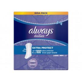 Always Dailies Extra Protect Large Wkładki higieniczne x68