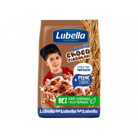 Lubella Mlekołaki Choco Piegołaki Zbożowe chrupki w kształcie ciasteczek o smaku czekoladowym 500 g