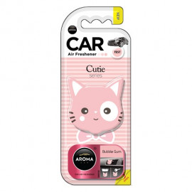 AROMA CAR CUTLE CAT BUBBLE GUM