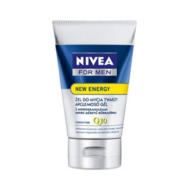 NIVEA FOR MEN NEW ENERGY ŻEL DO MYCIA TWARZY 100ML