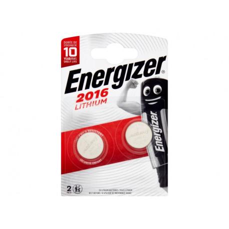 Energizer CR2016 3 V Baterie litowe 2 sztuki