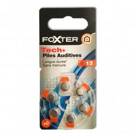 FOXTER 6 Baterii do aparatów słuchowych (nr13) bez rtęci