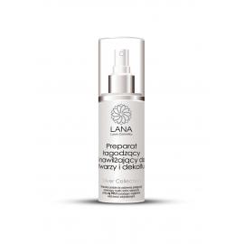 LANA Luxury Cosmetics Preparat łagodzący i nawilżający do twarzy i dekoltu 100 ml
