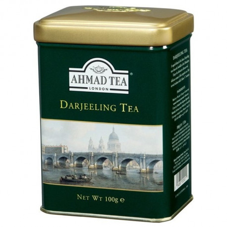 Ahmad Tea Darjeeling 100g puszka