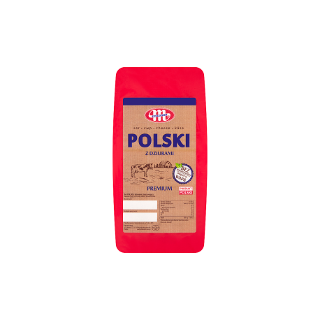Mlekovita Ser Polski z dziurami kg
