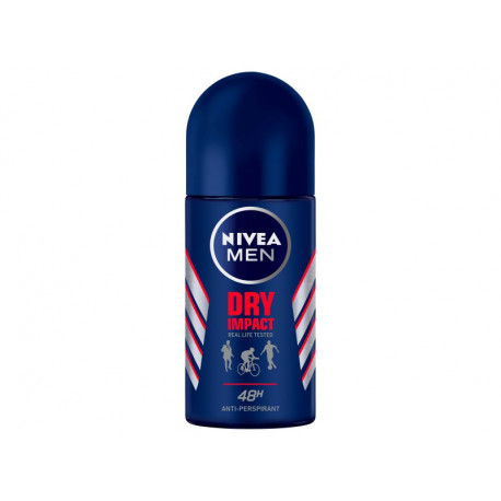 NIVEA MEN Dry Impact Antyperspirant w kulce 50 ml