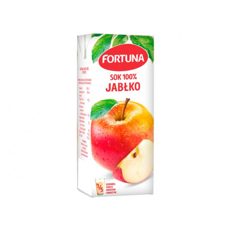 Fortuna Sok 100% jabłko 200 ml