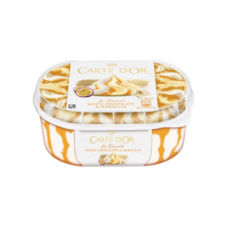 Carte D'Or Les Desserts White Chocolate and Maracuja Lody 900 ml