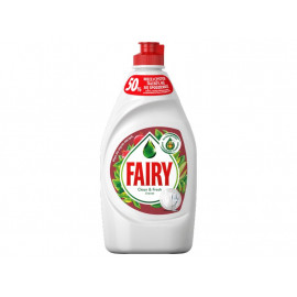 Fairy Clean & Fresh Granat Płyn do mycia naczyń 450 ml