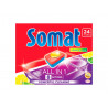 Somat All in 1 Lemon & Lime Tabletki do mycia naczyń w zmywarkach 432 g (24 sztuki)