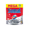 Somat All in 1 Extra Tabletki do mycia naczyń w zmywarkach 1274 g (70 x 18,2 g)