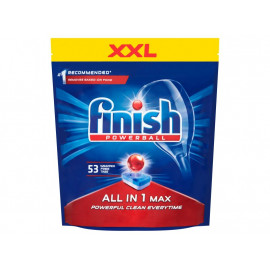 Finish All in 1 Max Tabletki do mycia naczyń w zmywarce 848 g (53 sztuki)