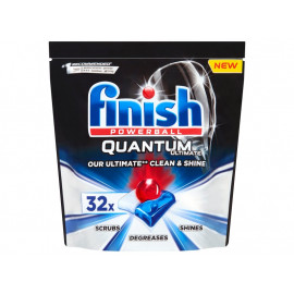 Finish Quantum Ultimate Regular Tabletki do mycia naczyń w zmywarce 400 g (32 sztuki)