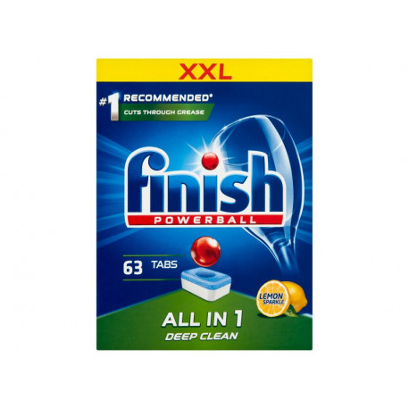 Finish All in 1 Lemon Tabletki do zmywarki 1008 g (63 sztuk)