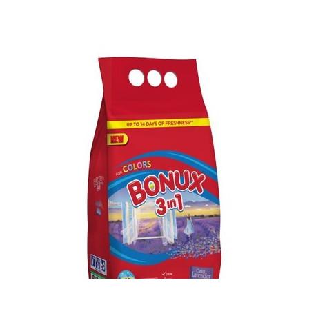 BONUX 3KG 40P KOLOR LAVENDER