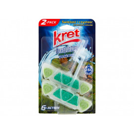 Kret Fresh Power Pine Forest Kostka do WC 2 x 40 g