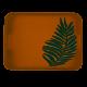 Taca organic z włókna bambusowego prostokątna 40,5x31x4,5cm