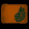 Altom-Taca organic z włókna bambusowego prostokątna 40,5x31x4,5cm
