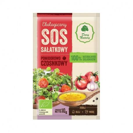 Dary Natury ekologiczny sos sałatkowy pomidorowo czosnkowy 10g