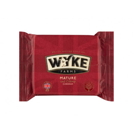 Wyke Farms Ser Cheddar Mature 200 g