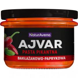 NaturAvena Ajvar pasta pikantna bakłażanowo-paprykowa 185g