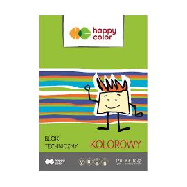 Happy color blok techniczny kolorowy A3 10 arkuszy